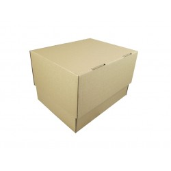 Pudełko fasonowe 317/243/148 szare