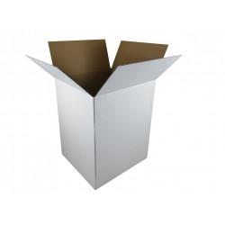 Pudełko klapowe białe 355/320/445