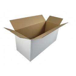 Pudełko klapowe białe 580/255/350