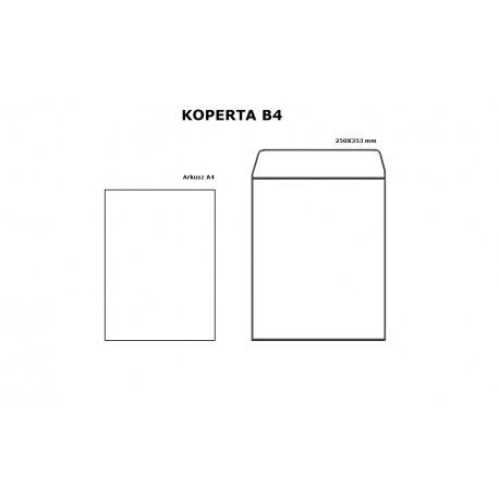 Koperta B4 HK biała - opak. 10szt