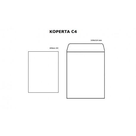 Koperta C4 HK biała - opak. 10szt