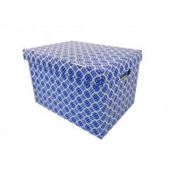 Pudełko ozdobne 460/330/290 Nadruk Niebieski