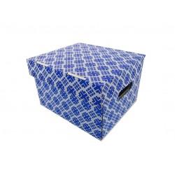 Pudełko ozdobne 270/240/180 Nadruk Niebieski