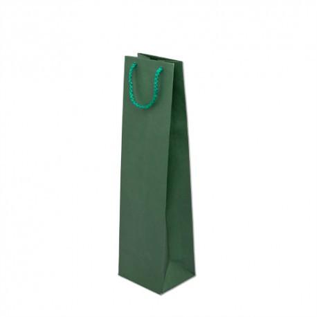 Torba papierowa 11/9/40 zielona prestige