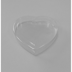 Pudełko plastikowe Serce