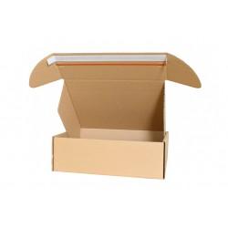 Pudełko fasonowe 370/290/120 z paskiem klejowym i tasiemką zrywającą