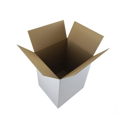 Pudełko klapowe BIAŁE 450/450/450
