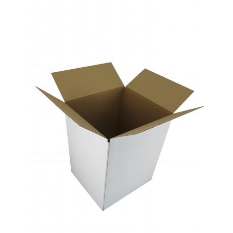 Pudełko klapowe BIAŁE 500/500/500